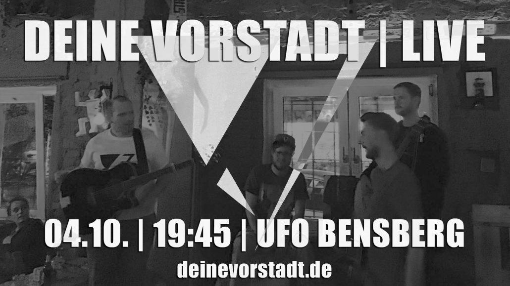 Grafik Deine Vorstadt LIVE im UFO Bensberg (2017)