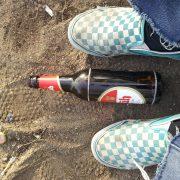 Foto: Zwischen den Zeiten: Schuhe vom Konzert vor Aquarium (30. April 2012)