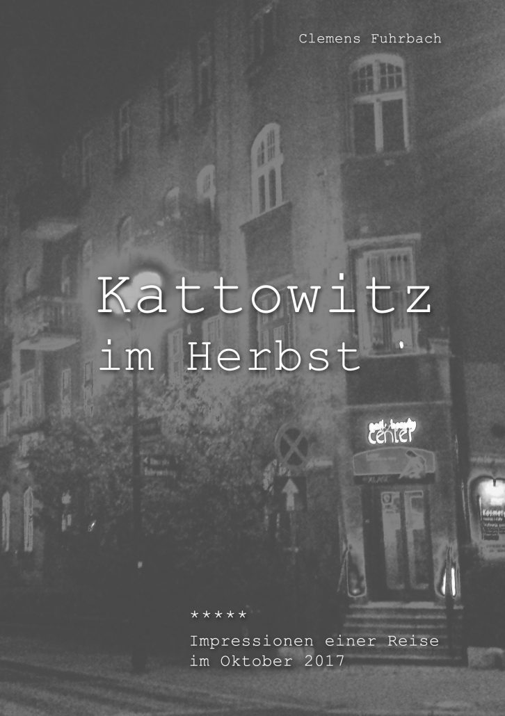 Artwork Kattowitz im Herbst