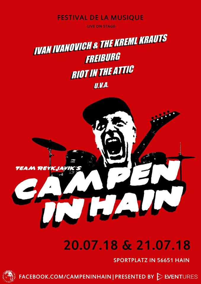 Campen in Hain 2018 (Flyer)