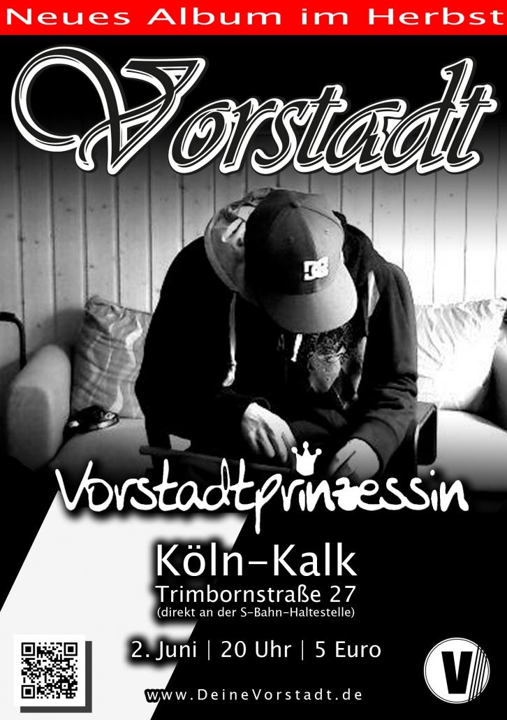 Flyer DEINE VORSTADT Vorstadtprinzessin 2012